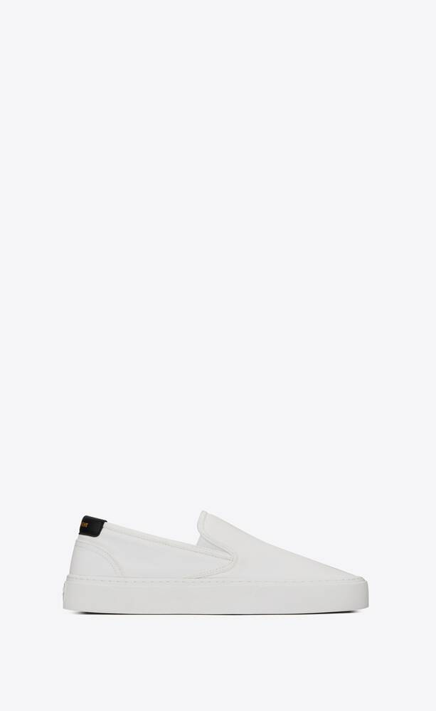 VENICE slip-on sneakers in canvas and