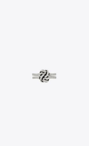 you & me ring in metal