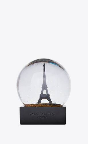 eiffel tower snowglobe