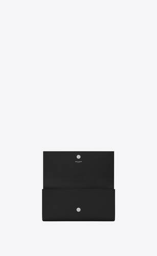 kate clutch in grain de poudre embossed leather