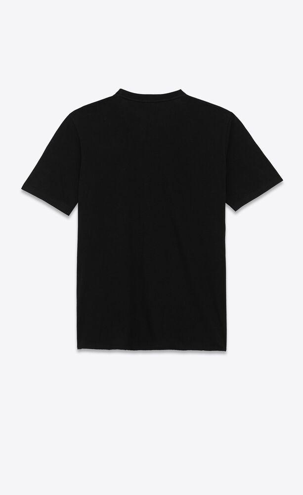 saint laurent t-shirt in cotton