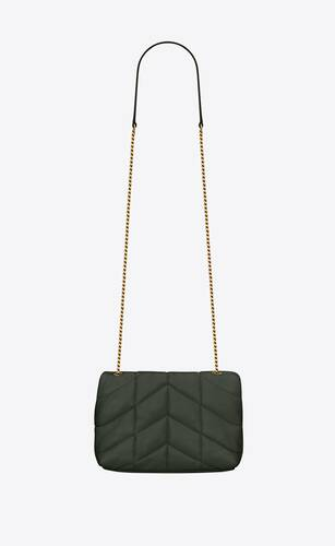 puffer toy bag in quilted lambskin