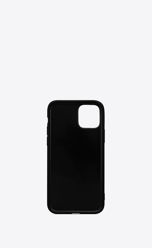iphone 11 pro case in saint laurent star printed silicone