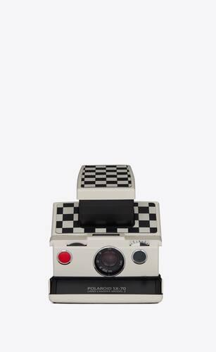 checkered polaroid sx70