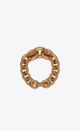 bracelet fin à maille forçat dégradée