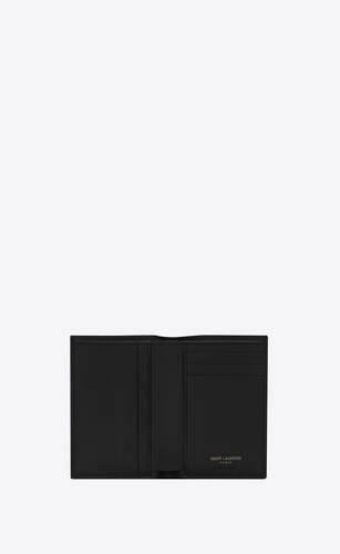 monogram credit card wallet in grain de poudre embossed leather