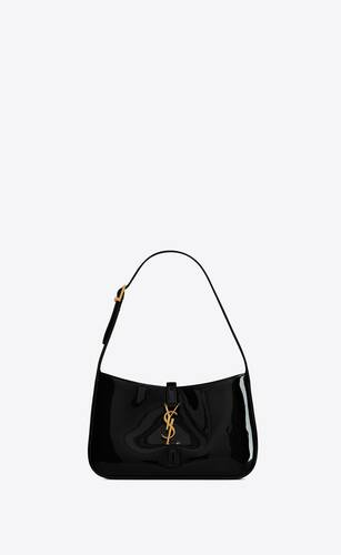 le 5 à 7 hobo bag in patent leather