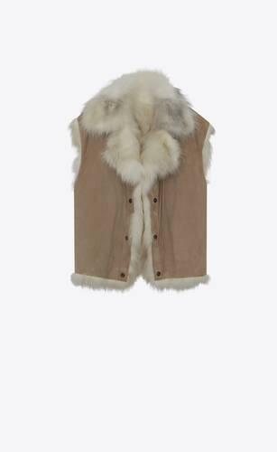 fur lined denim jacket