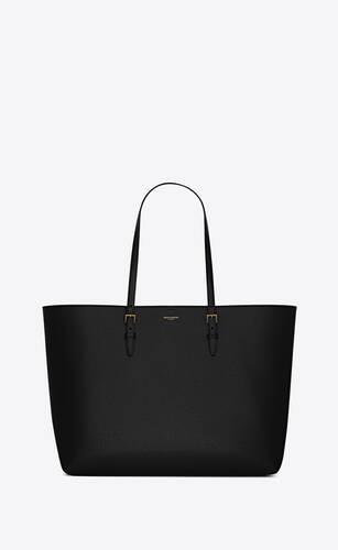 boucle shopping bag e/w en cuir embossé et enduit