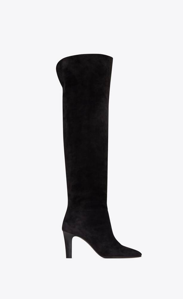 jane over-the-knee boots in suede