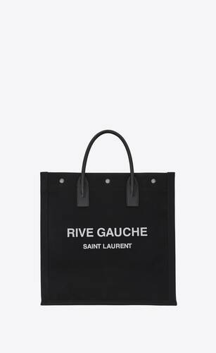 rive gauche n/s shopping bag in cotton