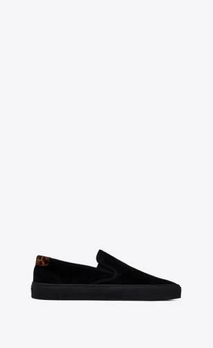 venice slip-on sneakers in suede