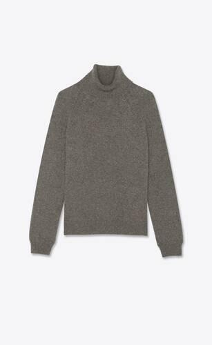 pullover dolcevita in lana