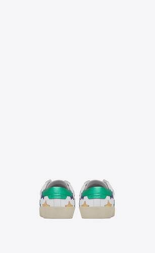 sneakers court classic sl/06 metallic california in pelle
