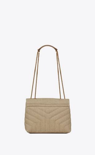 loulou small bag in y-quilted linen