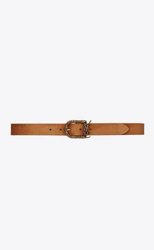 celtic buckle belt in suede
