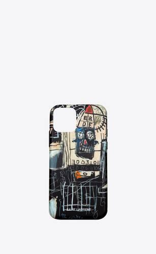coque d'iphone 11 pro à imprimé jean-michel basquiat