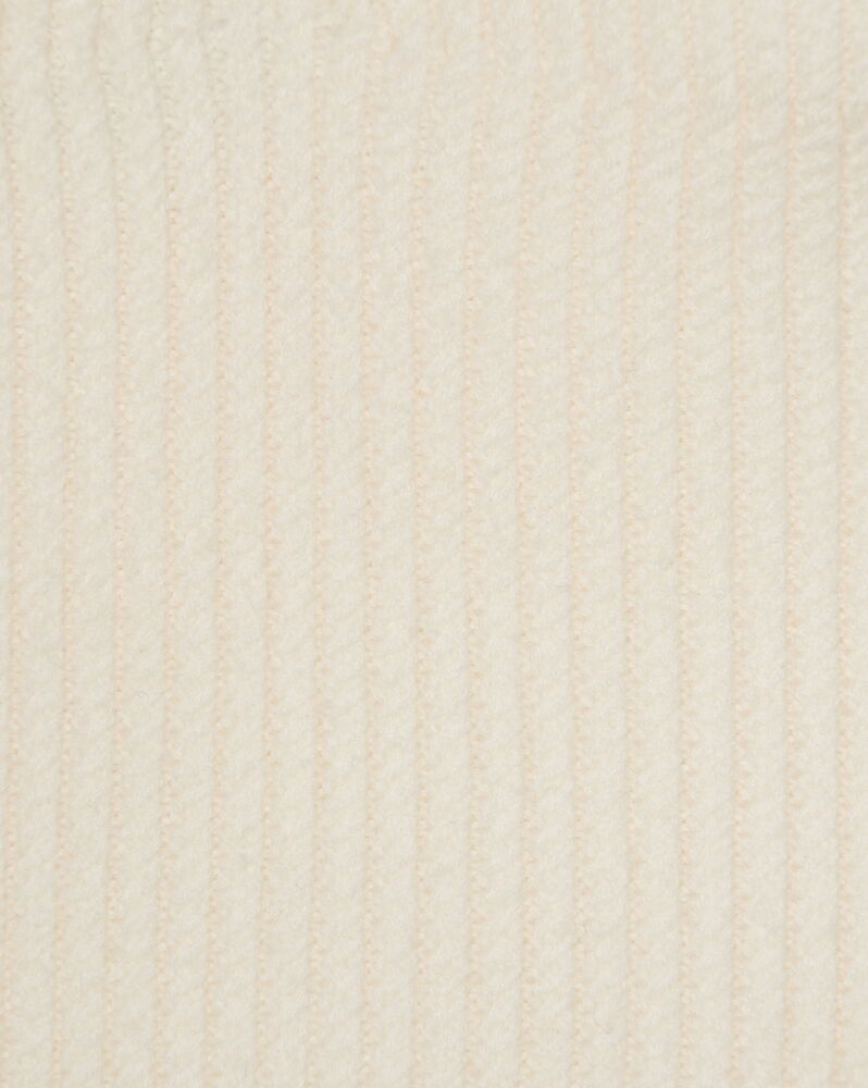 sweetheart bustier in micro cable-knit wool felt