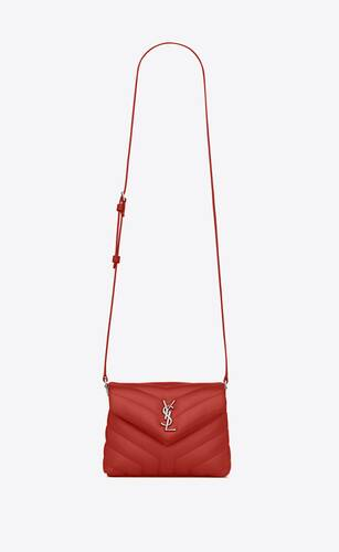 """loulou toy bag in matelassé """"y"""" leather"""