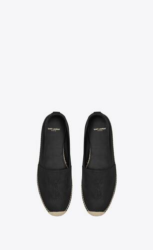 monogram espadrilles in smooth leather