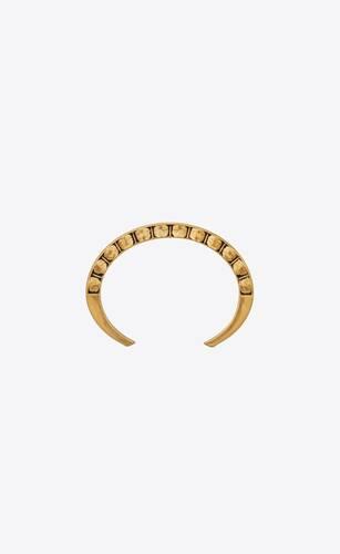 marrakech textured square cuff bracelet in metal