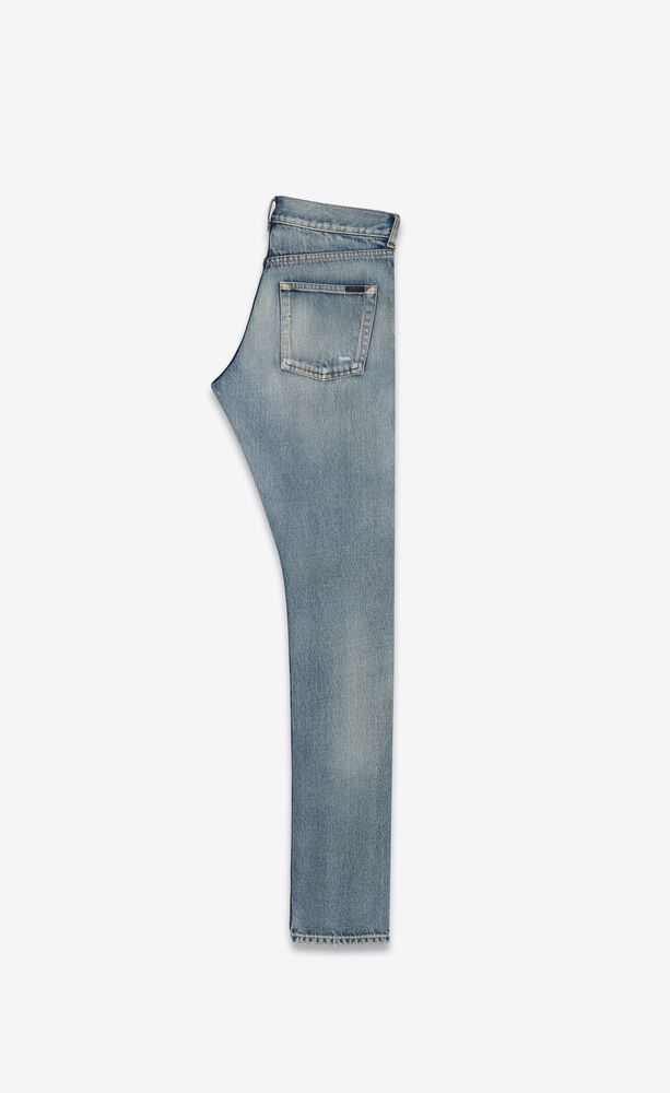slim-fit jeans in santa monica blue denim