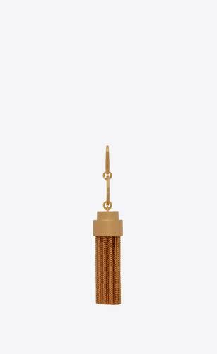 tassel keychain in metal
