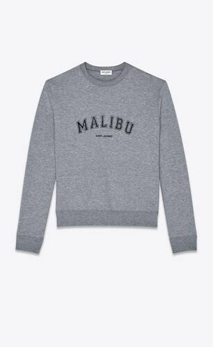 """malibu saint laurent"" sweatshirt"