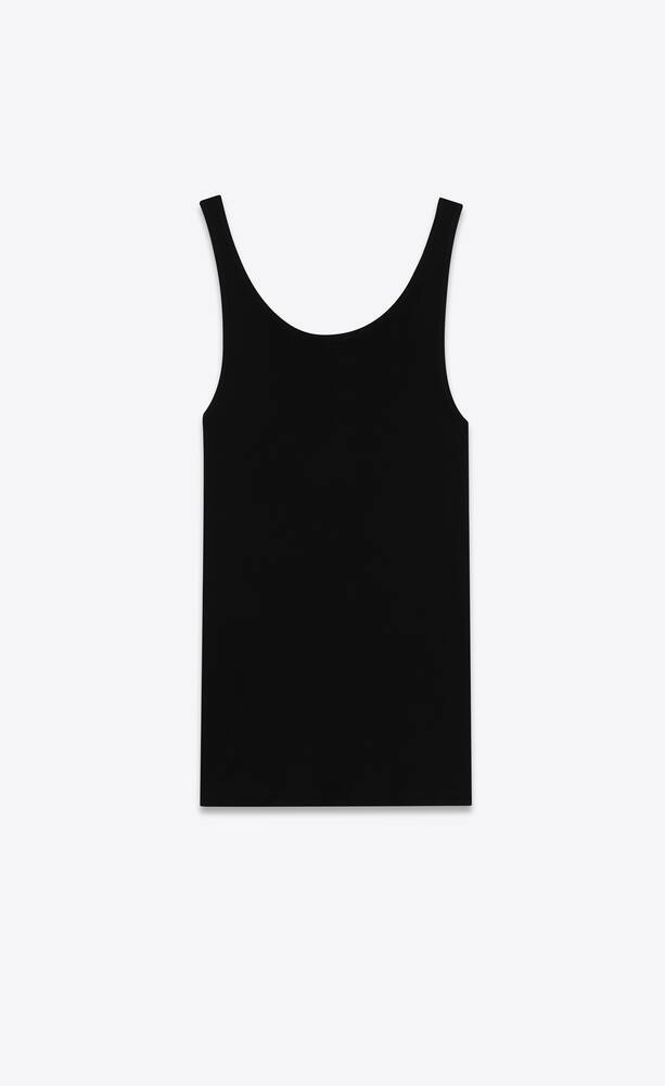 tank top in jersey