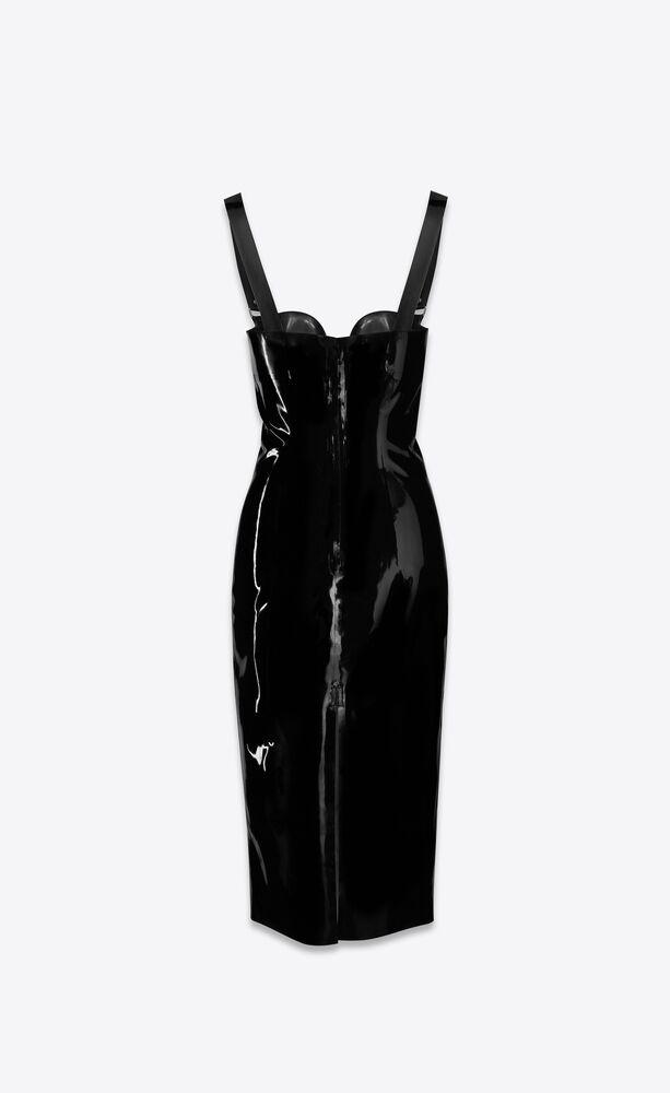robe midi en latex