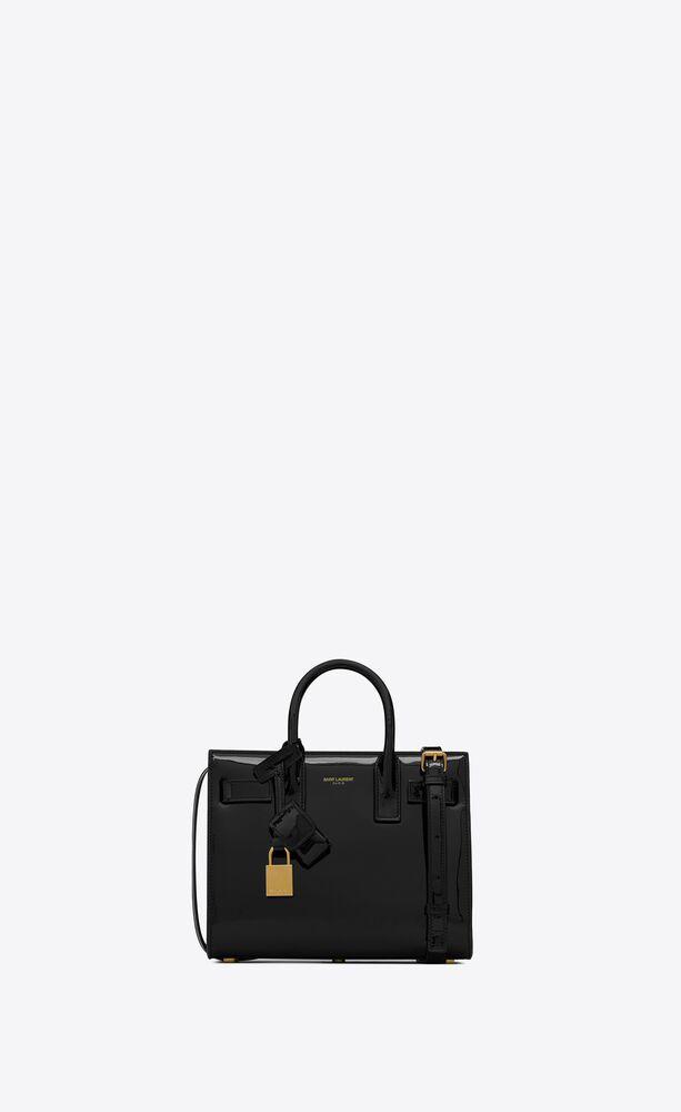 classic sac de jour nano in patent leather