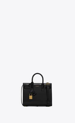classic sac de jour nano in patent leather
