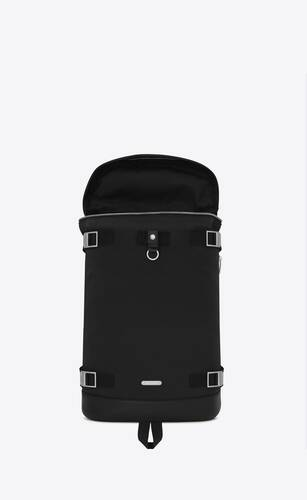 rivington race backpack in nylon canvas and leather