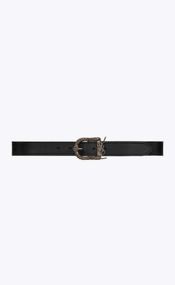celtic belt in smooth leather