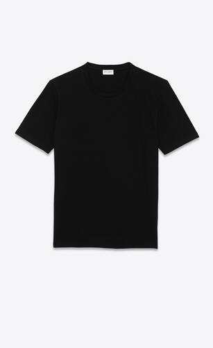 saint laurent t-shirt in cotton