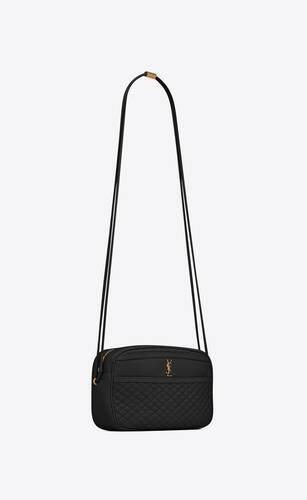 victoire camera bag in quilted lambskin