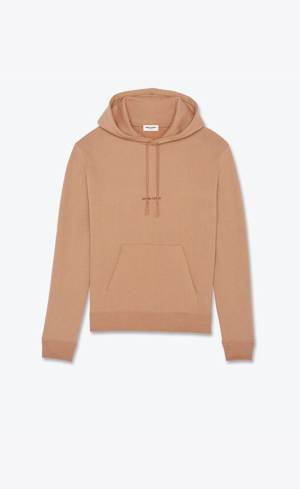 saint laurent rive gauche hoodie
