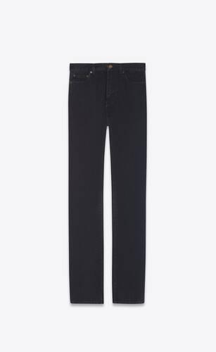 90's highwaist jeans in black stonewash denim