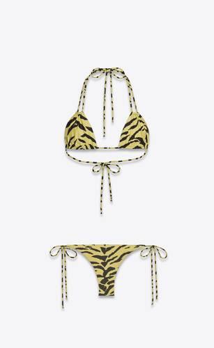 tie bottoms with eighties zebra print
