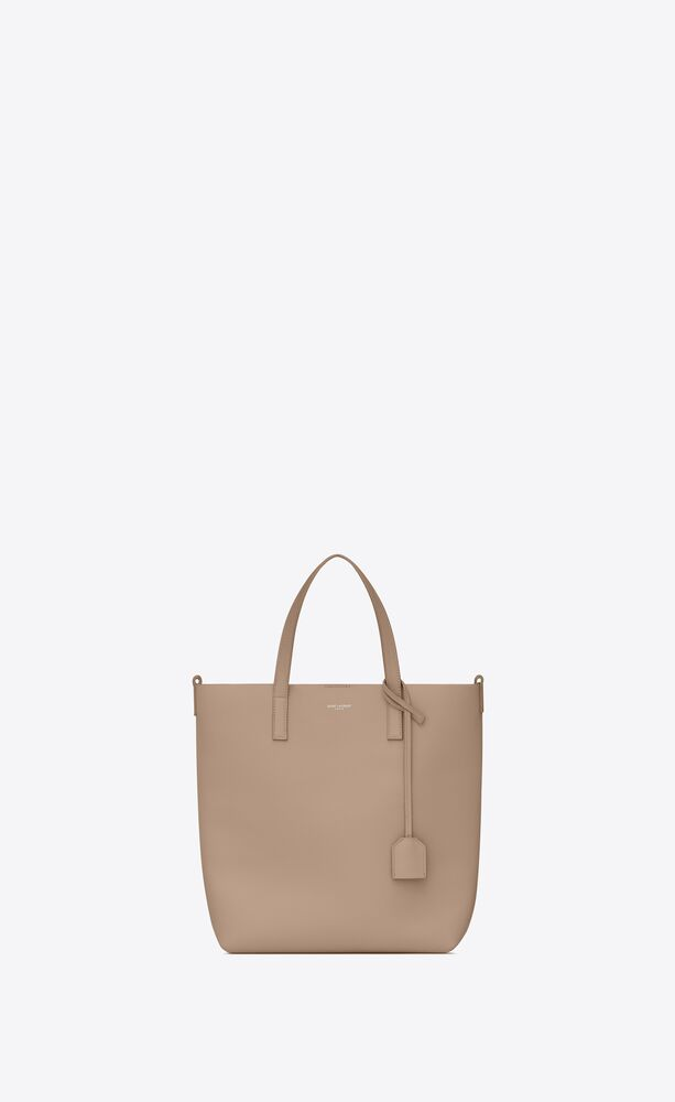 shopping bag saint laurent n/s en cuir souple
