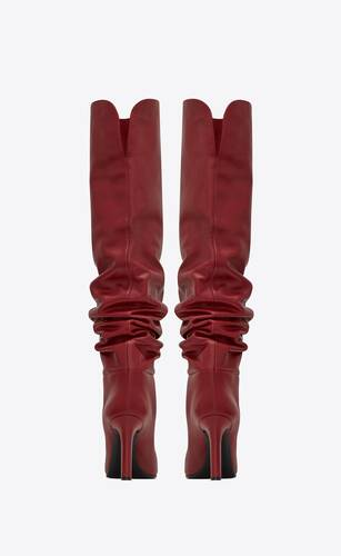 jane over-the-knee boots in smooth leather