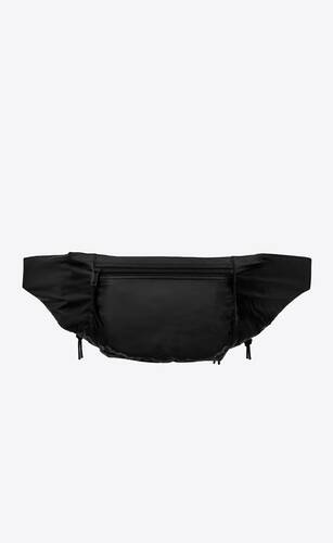 nuxx bodybag en nylon imprimé saint laurent