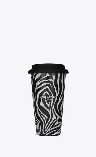 zebra coffee mug in ceramic