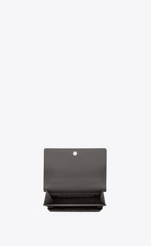 medium sunset satchel in smooth leather