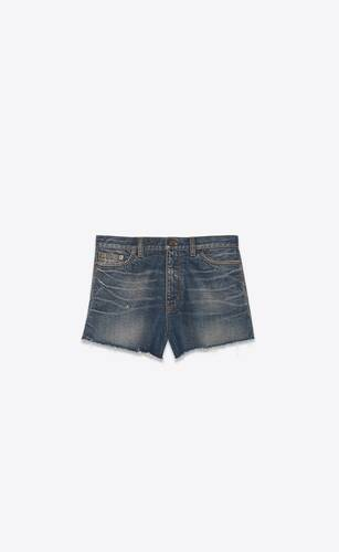 baggy shorts in blue moon denim