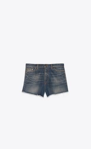 pantalones cortos baggy de denim luna azul
