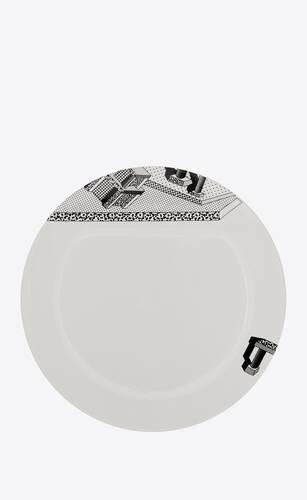 """""""indivia"""" ceramic plate"""