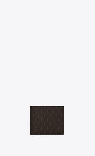le monogramme east/west wallet in saint laurent monogram canvas