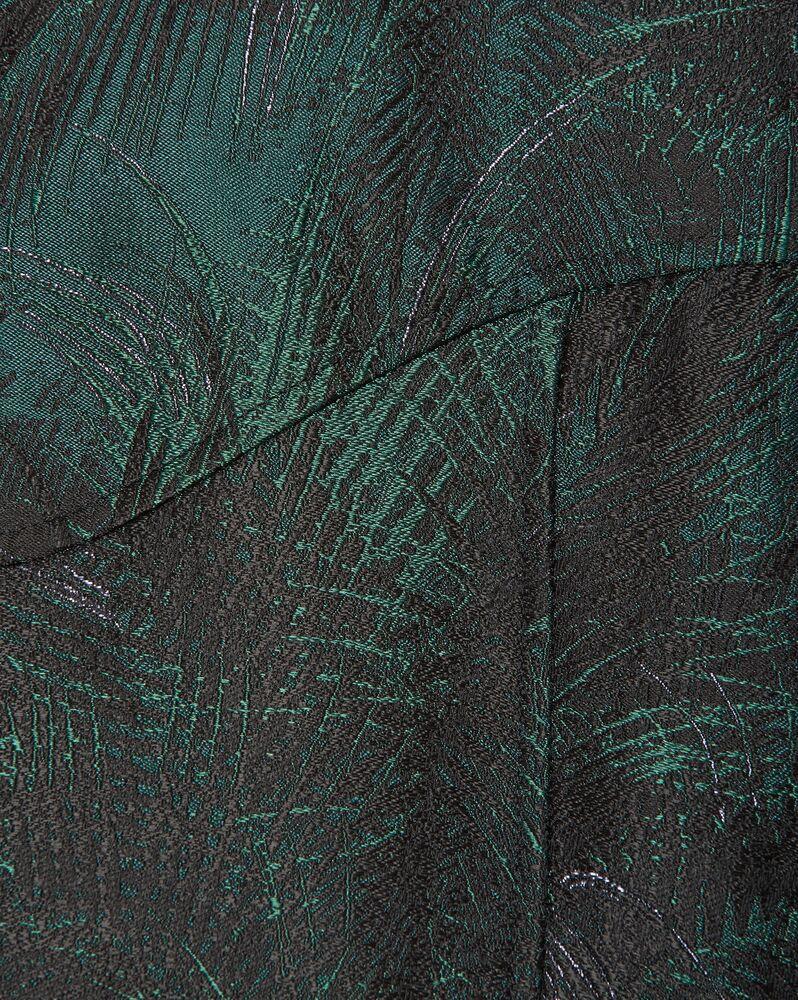 teddy jacket in jungle damask