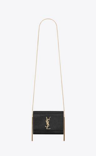 kate box bag in rippled patent leather